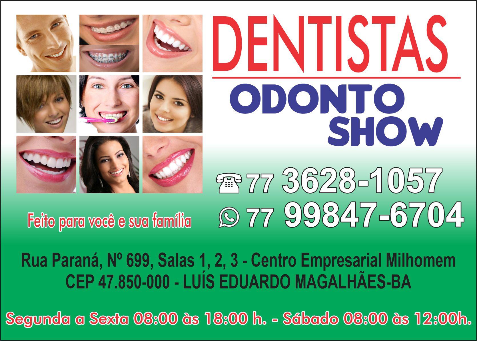 odonto show banner