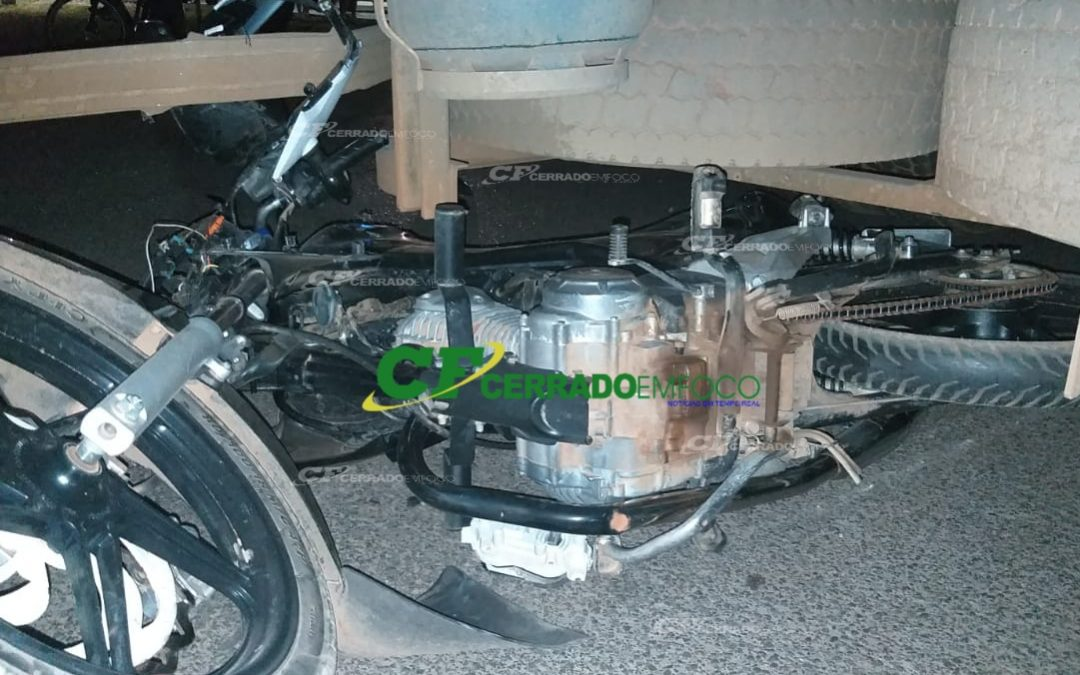 LEM: Acidente de trânsito sentido à Barreiras deixa motociclista ferido