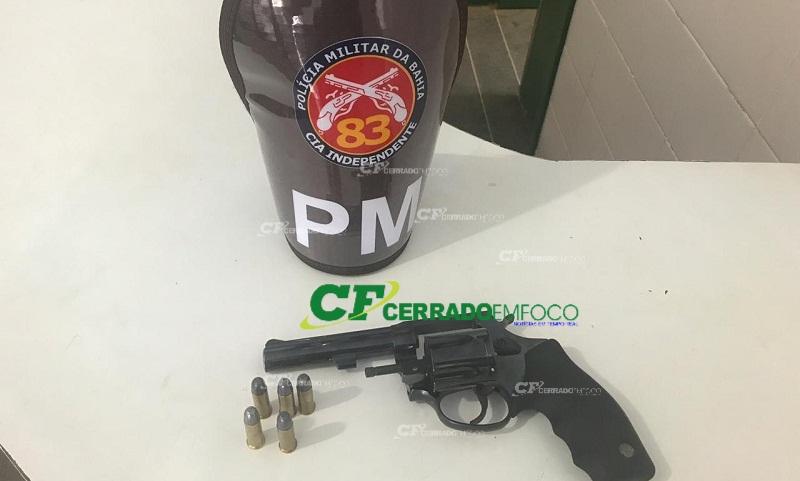 Barreiras: Homem é detido por porte ilegal de arma de fogo