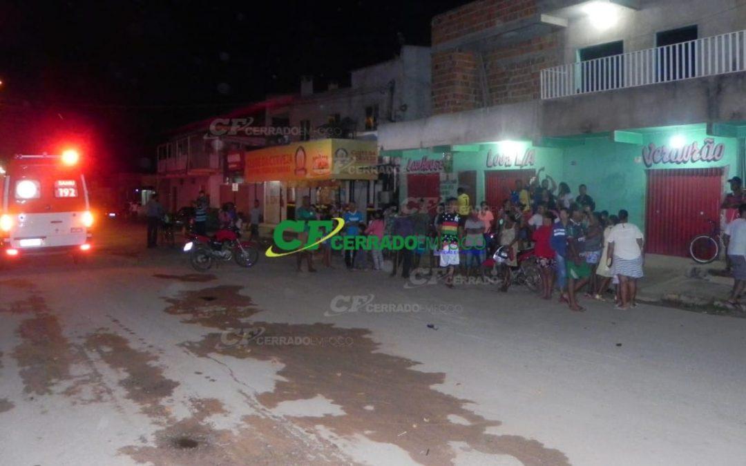 LEM: Acidente de trânsito envolvendo duas motocicletas no Bairro Santa Cruz