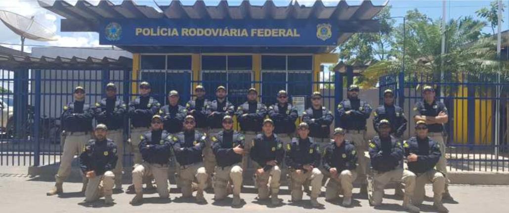 Agentes da PRF recém formados iniciam atividades operacionais nas rodovias baianas