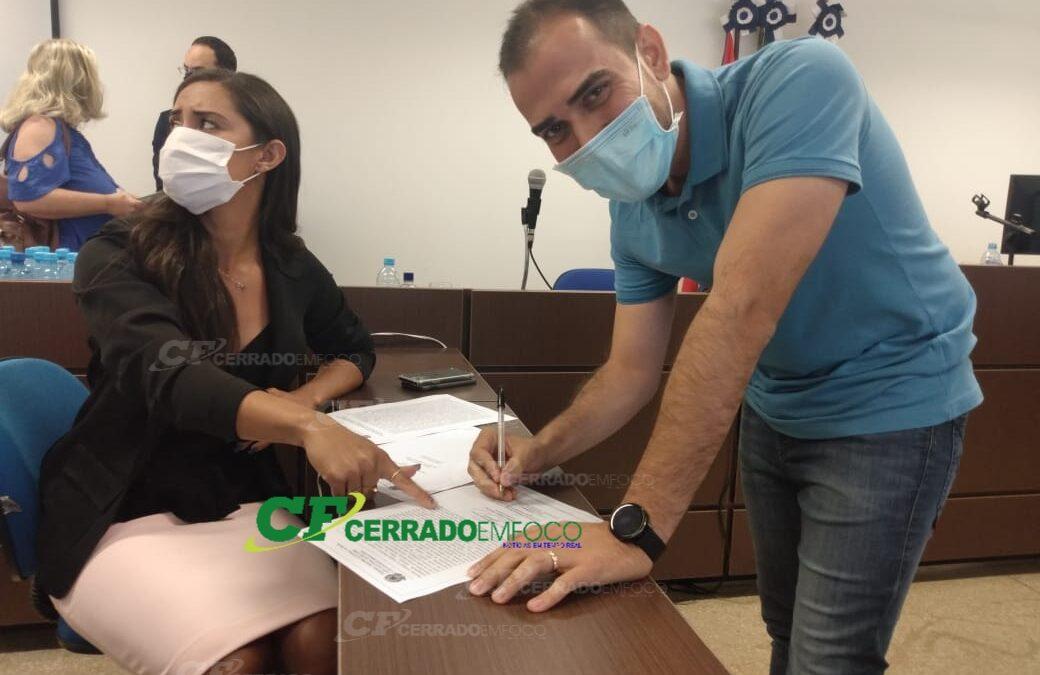 LEM: Candidato a prefeito Junior Marabá fala sobre reunião eleitoral realizada no fórum da cidade.