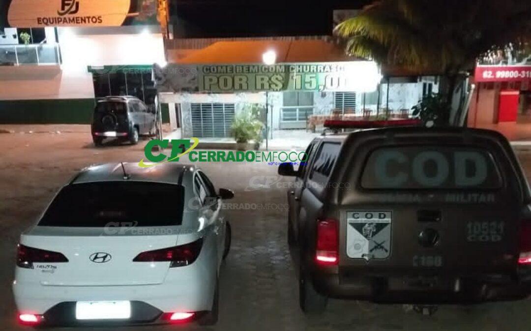 Rosário-BA: COD-PMGO Faz prisão de casal por Tráfico de drogas.