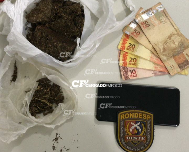Barreiras: RONDESP OESTE prende suspeitos por tráfico de entorpecentes