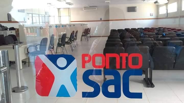 LEM: Por determinação do Estado, Ponto SAC estará fechado até a próxima terça-feira (02).