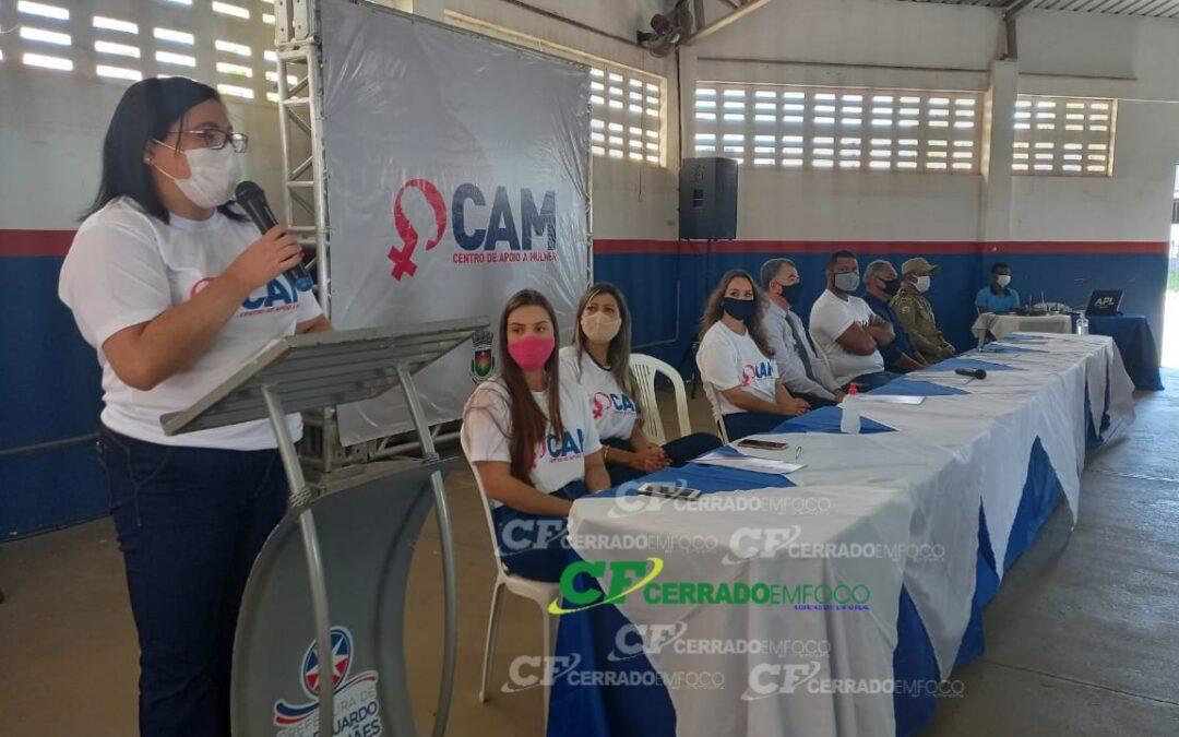 LEM: Lançamento do Centro de Apoio à Mulher em Luís Eduardo Magalhães.