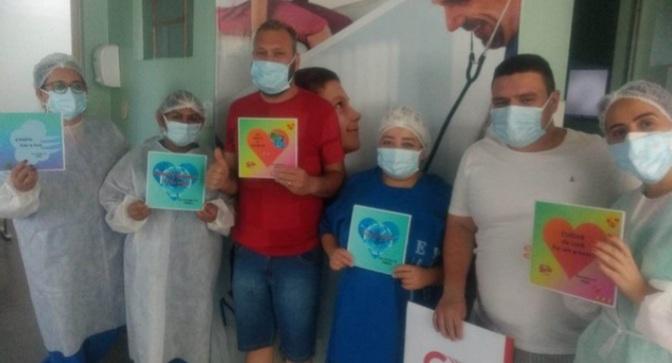 Barreiras-BA: São celebrado novas altas de pacientes recuperados da Covid-19, no Pronto Atendimento Coronavírus.